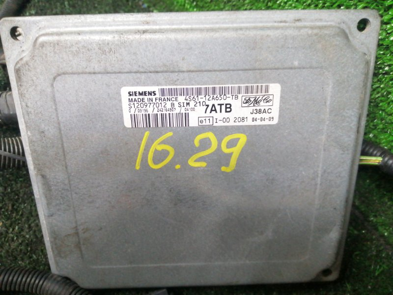 Блок управления Opel Meriva Z16XE 2004