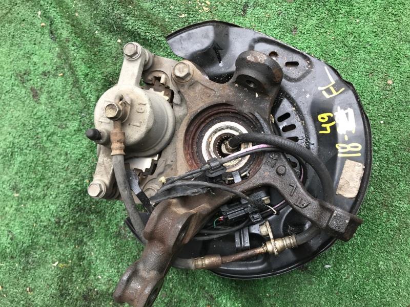 Шланг тормозной Toyota Spade NCP141 1NZ-FE передний левый