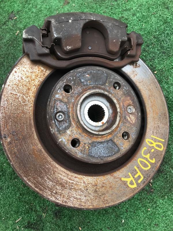 Диск тормозной Peugeot 206 NFU (TU5JP4) передний правый