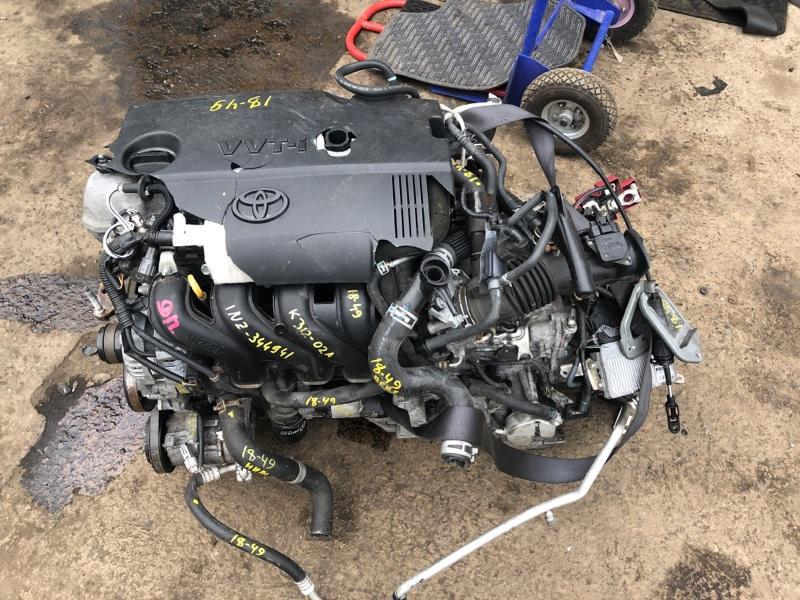 Двигатель Toyota Spade NCP141 1NZ-FE