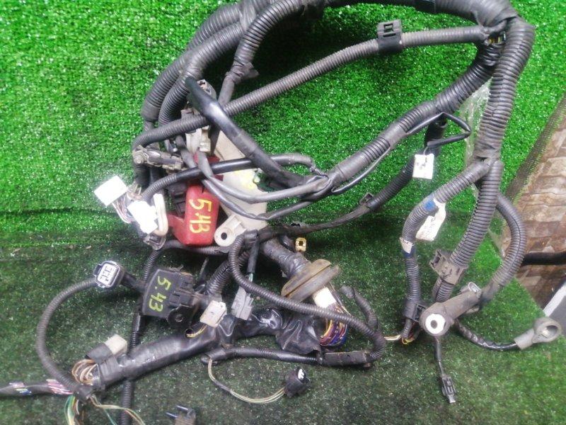 Проводка двигателя Toyota Cynos EL52 4E