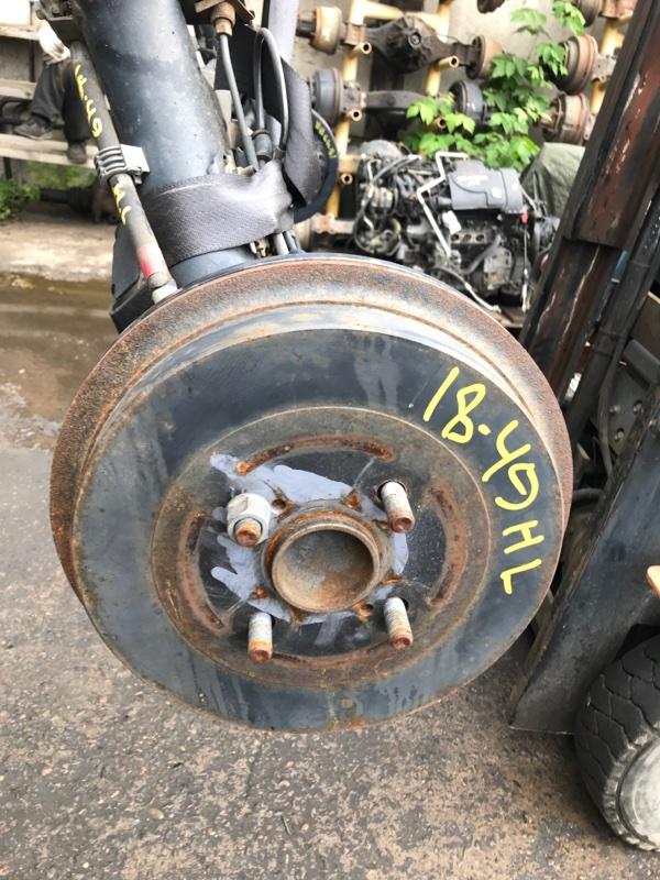 Ступица Toyota Spade NCP141 1NZ-FE задняя левая