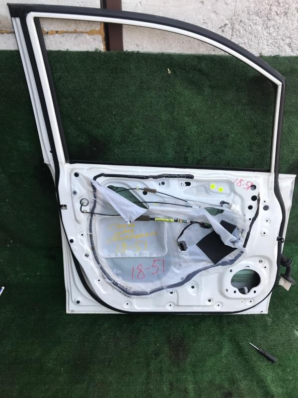 Дверь боковая Honda Stepwgn RK1 R20A передняя левая