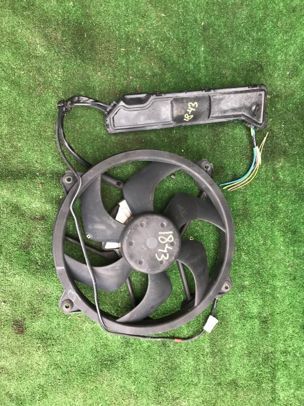 Вентилятор радиатора двигателя Peugeot 407 XFV (ES9A)