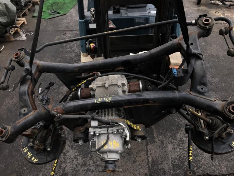 Кронштейн редуктора Nissan X-Trail NT30 QR20DE