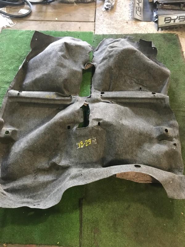 Обшивка пола Toyota Vitz SCP10 1SZ-FE