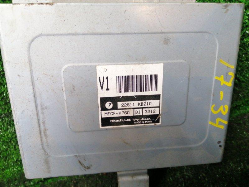 Блок управления двс Subaru Sambar TT2 EN07