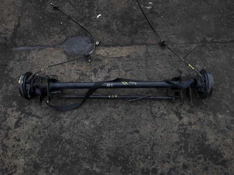 Балка поперечная Nissan Moco MG21S K6A задняя