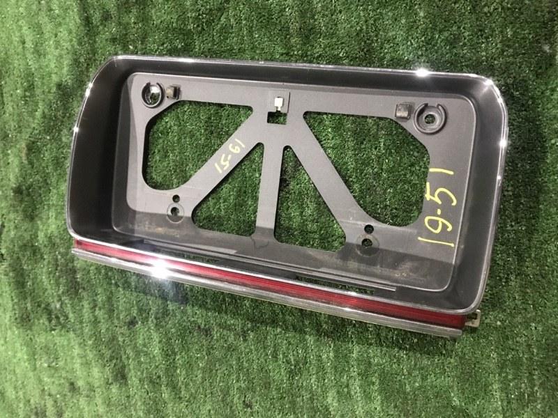 Рамка номера Toyota Crown JZS151 1JZ-GE