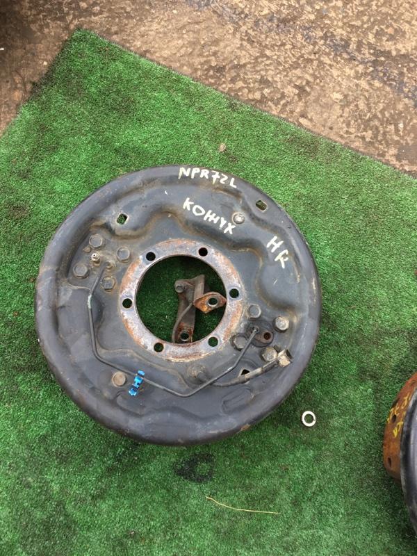 Кожух тормозного барабана Isuzu Elf NPR72L задний правый