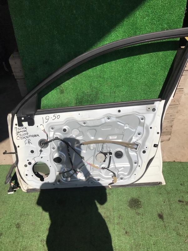 Замок дверной Nissan Teana J32 VQ25DE передний правый