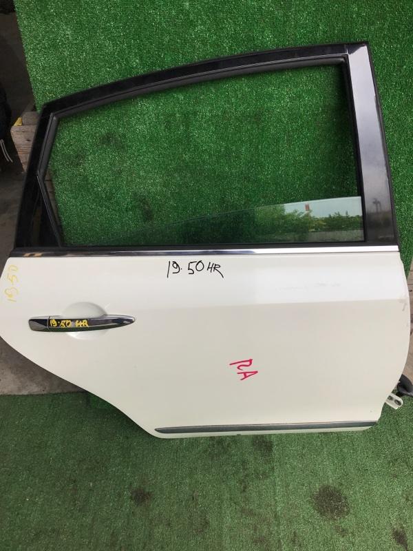 Дверь боковая Nissan Teana J32 VQ25DE задняя правая