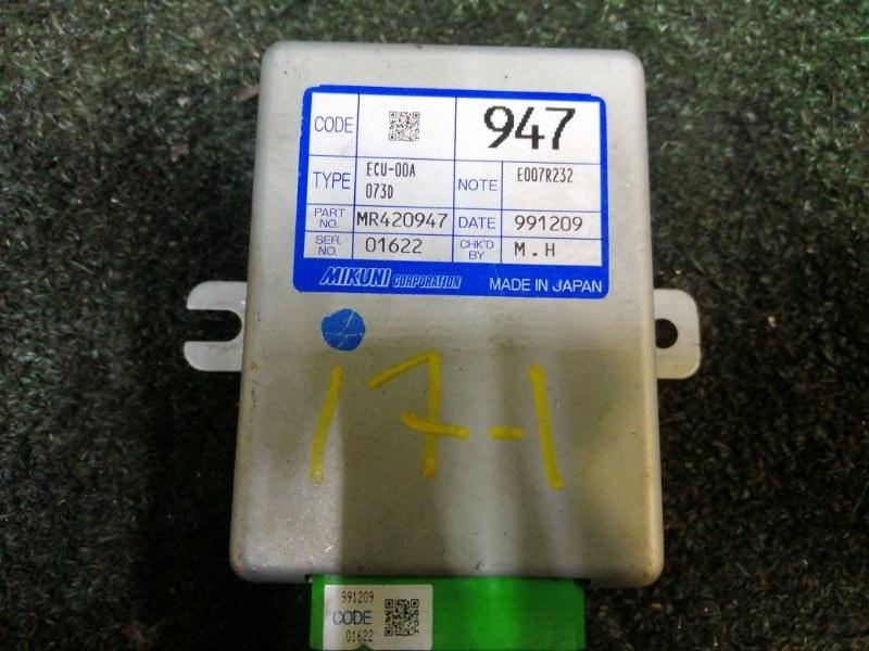 Блок управления впрыском топлива Mitsubishi Chariot Grandis N84W 4G64
