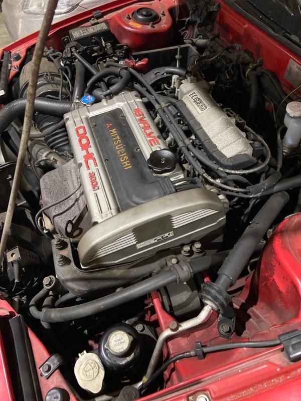 Двигатель Mitsubishi Eclipse D27A 4G63-T
