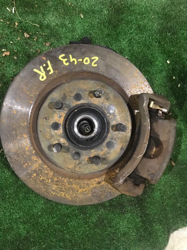 Диск тормозной Nissan Tino HV10 SR20DE передний правый