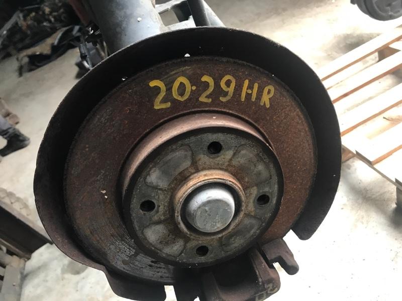Диск тормозной Citroen C4 PSA5FW 2009 задний правый