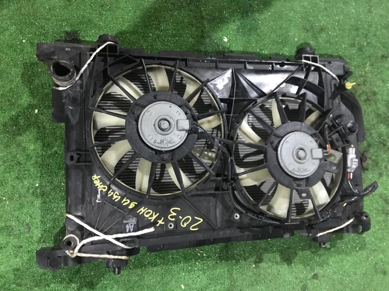 Радиатор двигателя Toyota Mark X Zio ANA10 2AZ-FE
