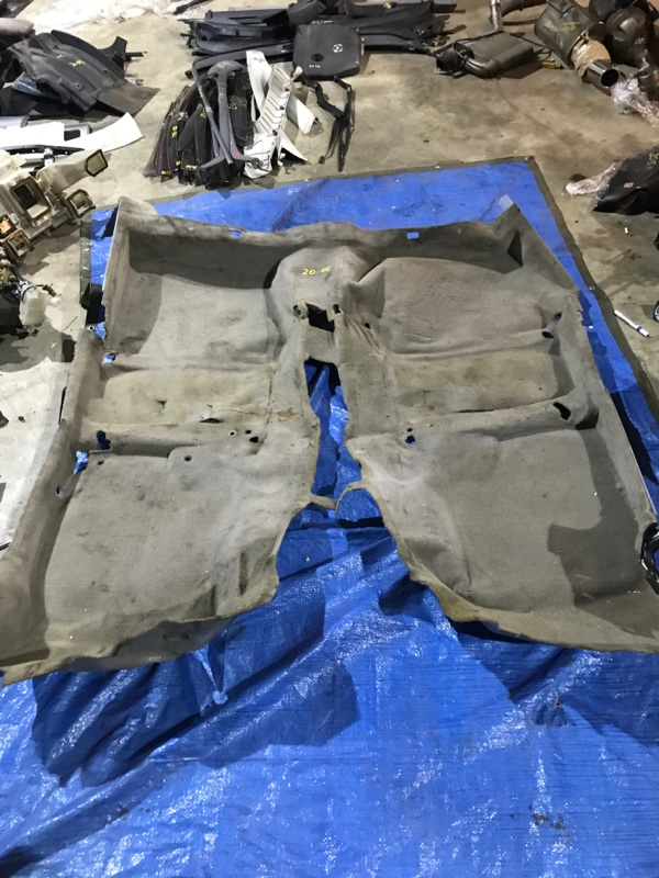 Обшивка пола Toyota Chaser GX100 1G-FE