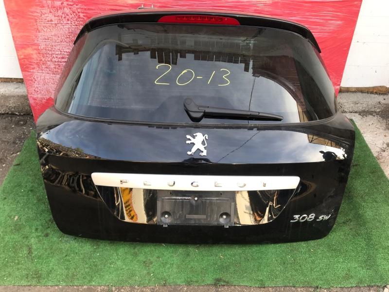Дверь задняя багажника Peugeot 308 PSA 5FT