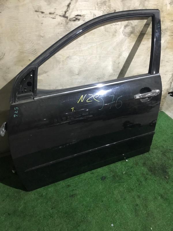 Дверь боковая Toyota NZE121 передняя левая