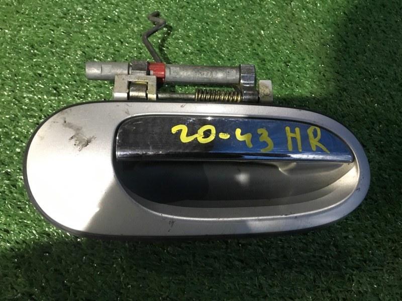 Ручка наружная Nissan Tino HV10 SR20DE задняя правая