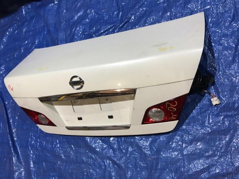 Крышка багажника Nissan Fuga PNY50 VQ35DE