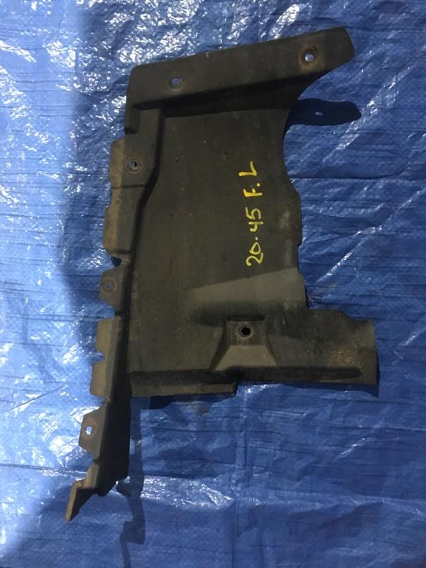 Защита двс Mitsubishi Pajero V93W 6G72 2009 передняя левая
