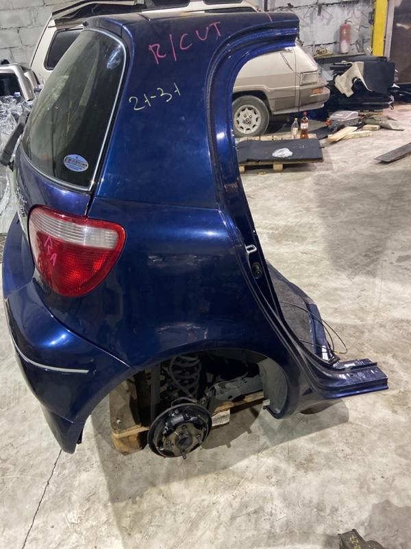 Rear cut Toyota Vitz NCP10 2NZ-FE