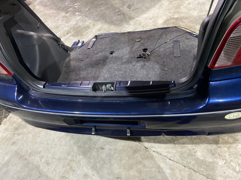 Задняя панель кузова Toyota Vitz NCP10 2NZ-FE