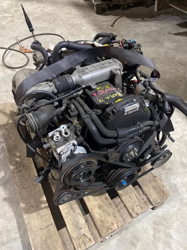 Двигатель Toyota Crown Comfort LXS11 2L-TE