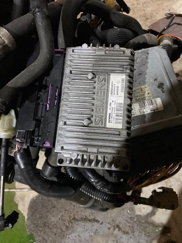 Блок управления кпп Renault Kangoo K4M-753 2003