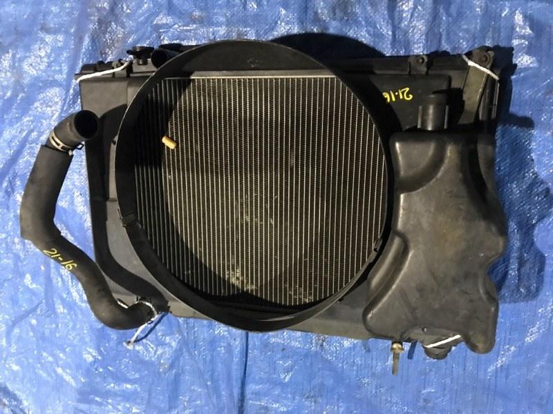 Радиатор двигателя Toyota Crown Comfort LXS11 2L-TE