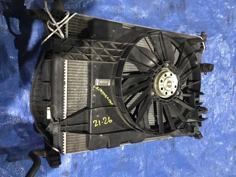 Радиатор двигателя Renault Megane F4R-771 2004