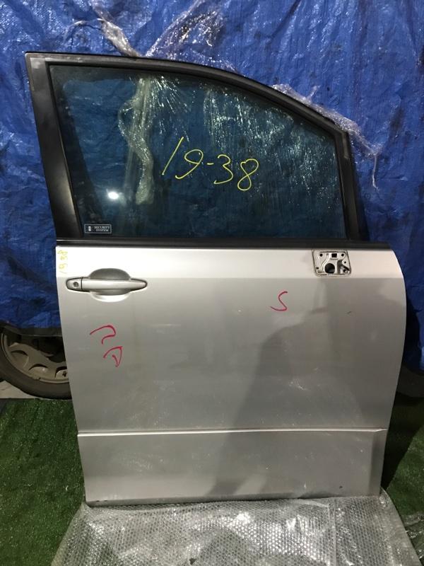 Дверь боковая Toyota Voxy ZZR70W 3ZR-FE передняя правая