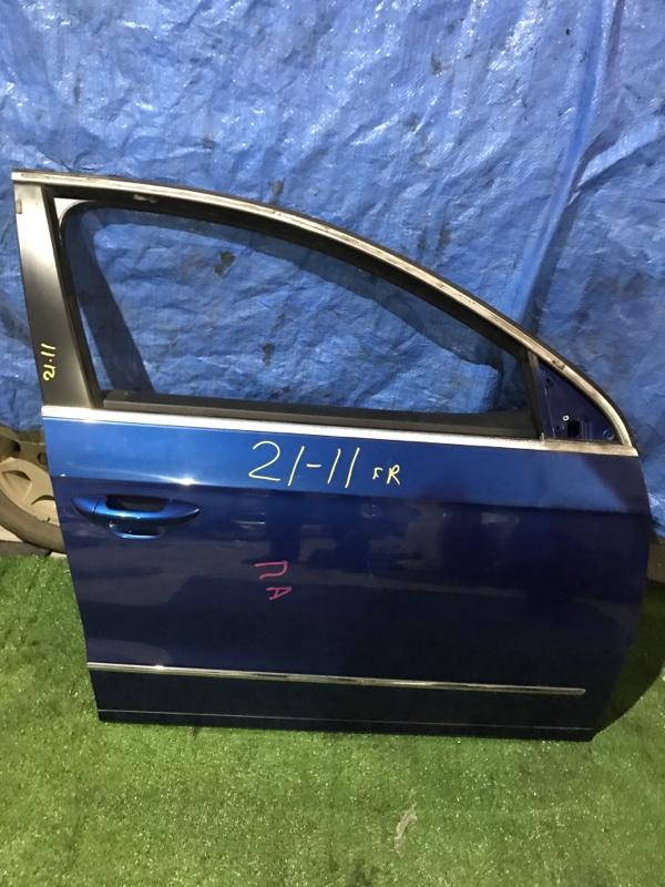 Дверь боковая Volkswagen Passat BWS 2009 передняя правая