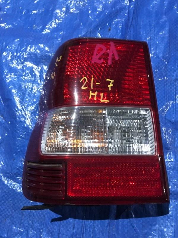 Фонарь стоп-сигнала Mitsubishi Pajero Io H76W 4G93 левый