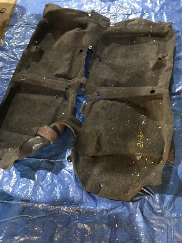 Обшивка пола Toyota Vitz NCP10 2NZ-FE