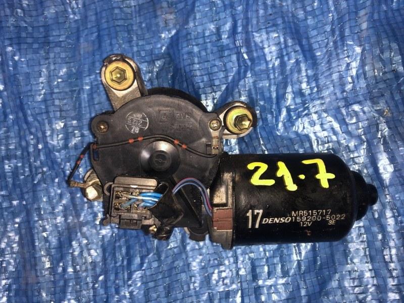 Мотор стеклоочистителя Mitsubishi Pajero Io H76W 4G93