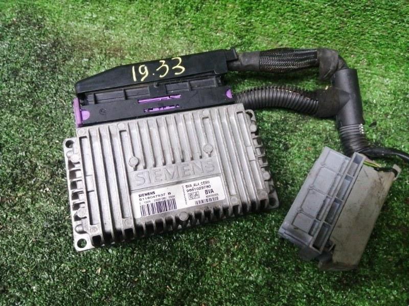 Блок управления кпп Peugeot 206Cc PSA NFU (TU5J4) 2004