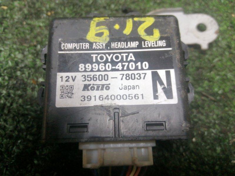 Блок управления освещением Toyota Prius NHW20 1NZ-FXE