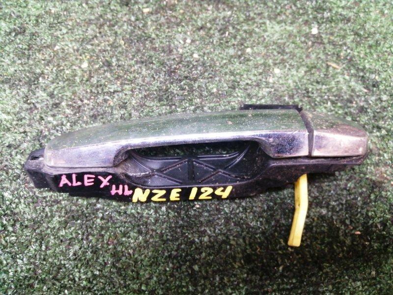 Ручка наружная Toyota Allex NZE124 задняя левая