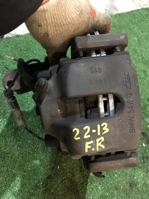 Суппорт Bmw 323I E46 M52 1999 передний правый