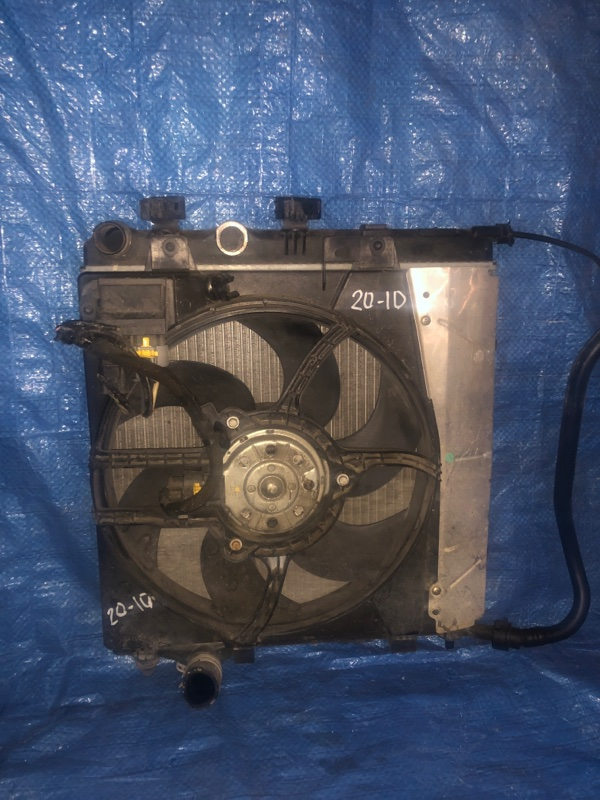Радиатор двигателя Peugeot 207 KFU