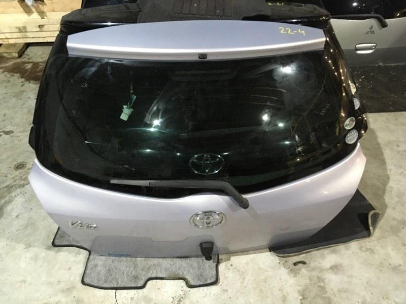 Дверь задняя багажника Toyota Vitz KSP90 1KR-FE