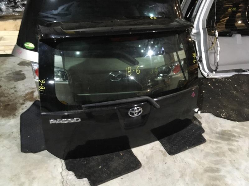 Дверь задняя багажника Toyota Passo KGC10 1KR-FE