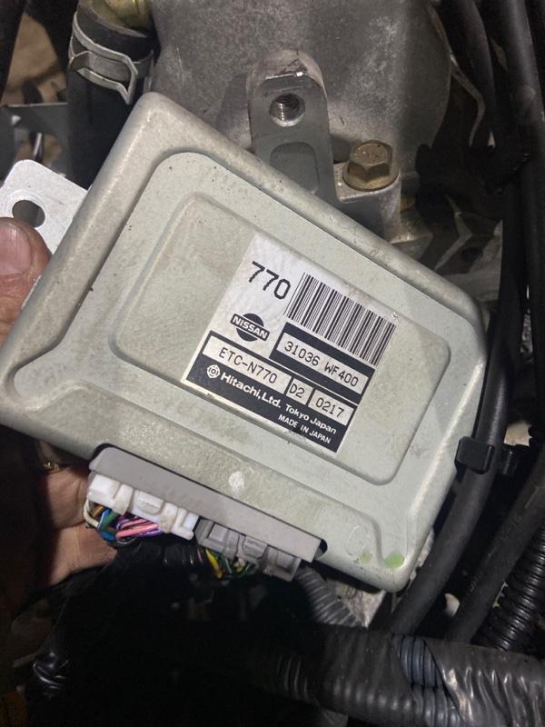 Блок управления кпп Nissan Liberty PNM12 SR20DE