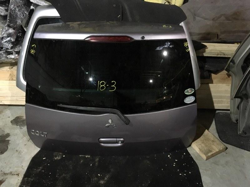 Дверь задняя багажника Mitsubishi Colt Z21A 4A90