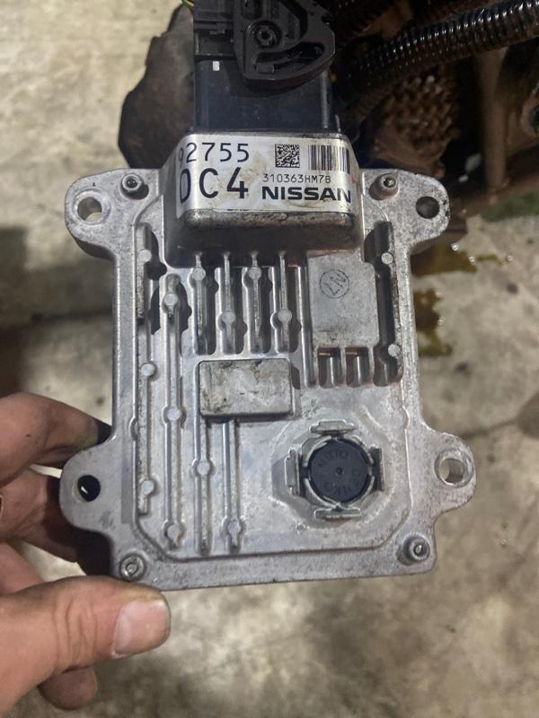 Блок управления кпп Nissan March K13 HR12DE