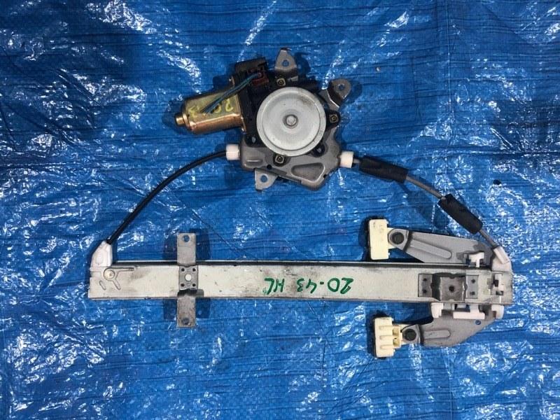 Стеклоподъемник Nissan Tino HV10 SR20DE задний левый