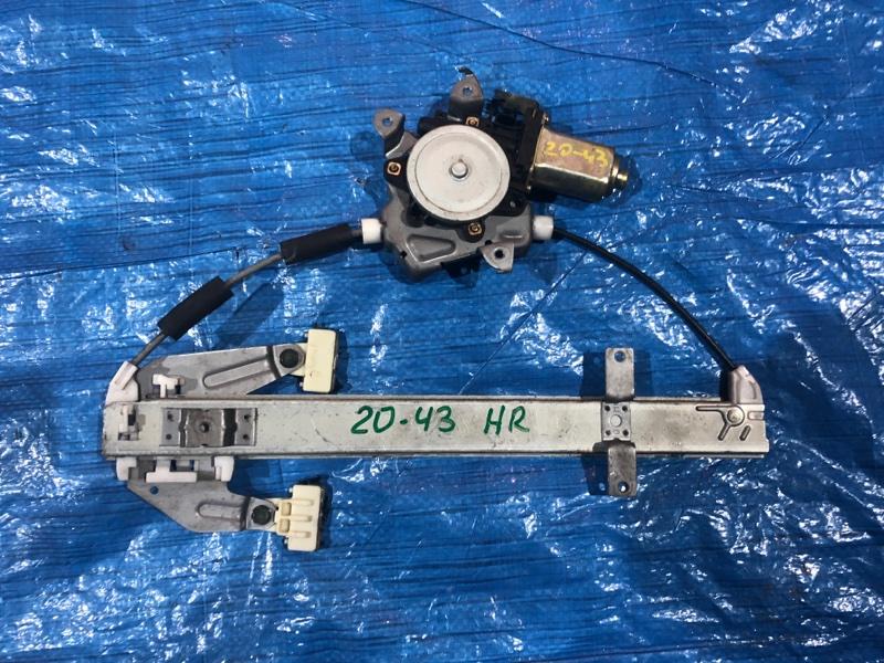 Стеклоподъемник Nissan Tino HV10 SR20DE задний правый